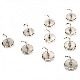 Set de 10 carlige magnetice