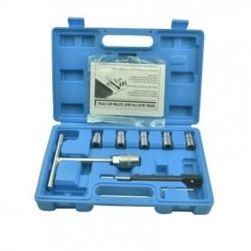 Freze pentru curatat orificiu injector diesel