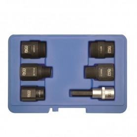 Set de 6 adaptoare pentru extras injectoare diesel Common Rail