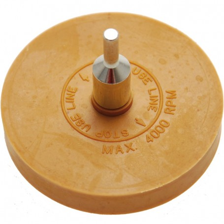 Disc din cauciuc pentru curatat adeziv