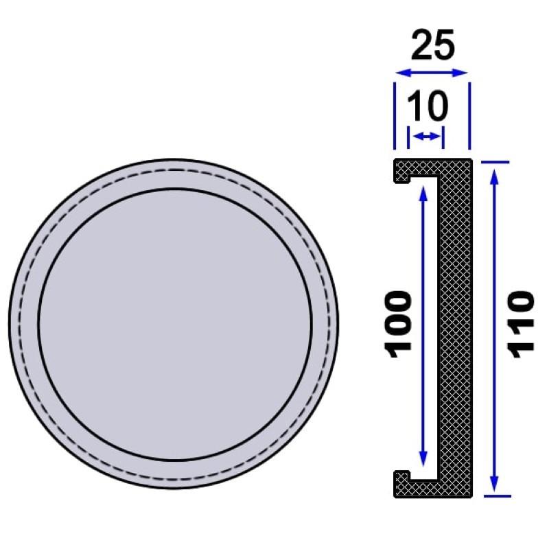 Trusa cu tubulare 1/4 pentru extras electrodul central de la bujii incandescente