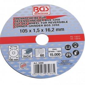 Disc de taiere 105x1.5x16.2 mm