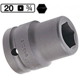 Tubulara de impact scurta de 24 mm 3/4