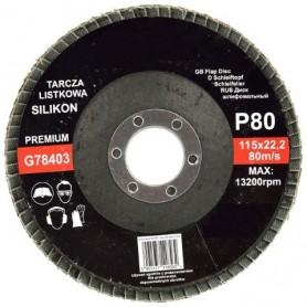 Disc lamelar 115mm, G80 Premium