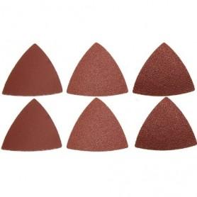 Set 6 discuri de slefuit triunghiulare