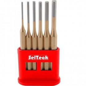 Set de 6 dornuri SelTech cilindrice 3-8mm