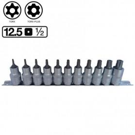Set de 11 imbusuri Torx Plus 1/2 securizate