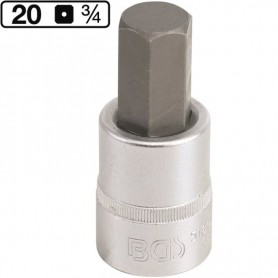 Imbus hexagonal de 22mm , 3/4