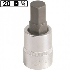 Imbus hexagonal de 19mm , 3/4