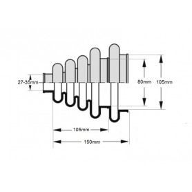 Trusa cu piulite nituibile M3-M10