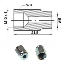 Cheie inelara de impact 24mm