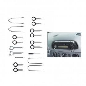 Set de 100 cleme pentru reparat plastic W 0.6mm