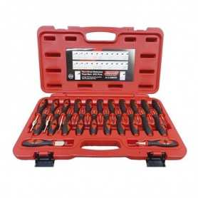 Set de cleme pentru aparat de lipit plastic forma L de 0.6mm
